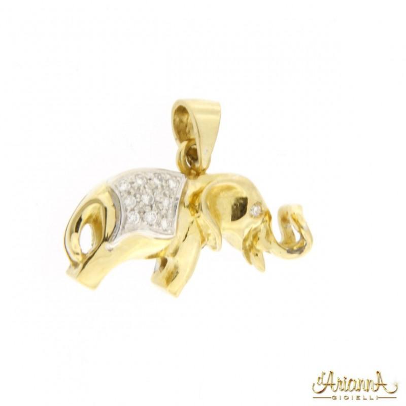 Ciondolo Elefante D951