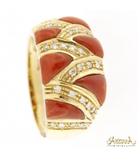 Anello Corallo N338