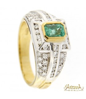 Anello con Smeraldo 2CO