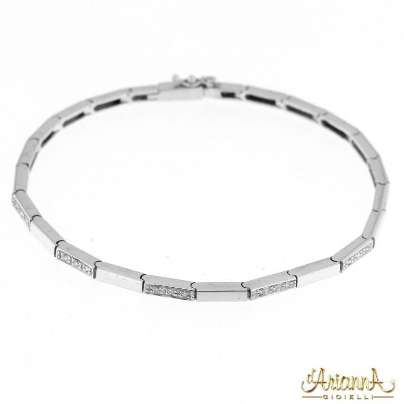 Bracciale con Diamanti BRA106