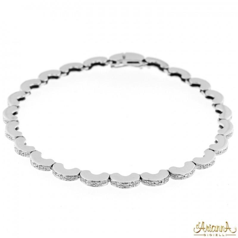 Bracciale con Diamanti BRA110