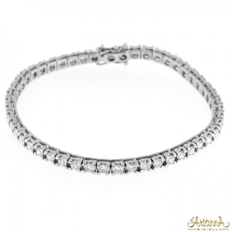 Bracciale con Diamanti BRA127