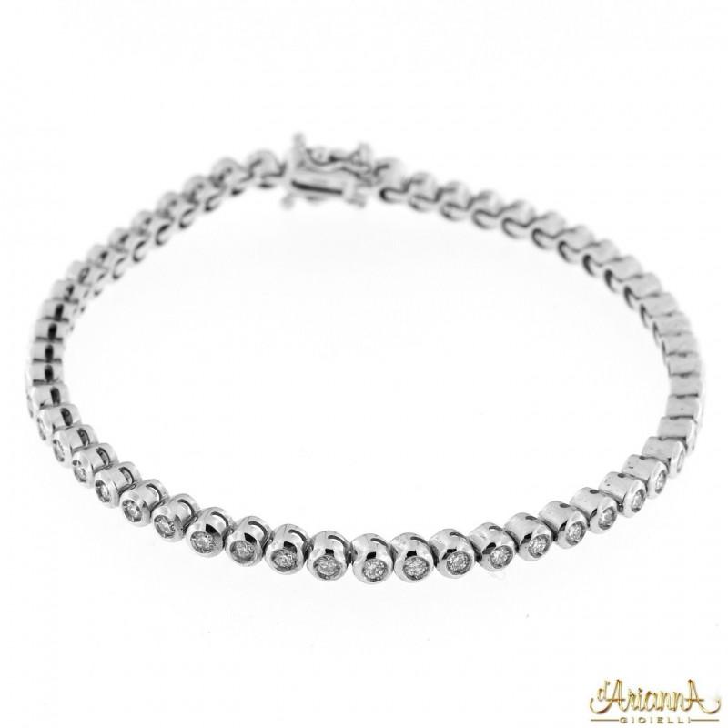 Bracciale con Diamanti BRA126