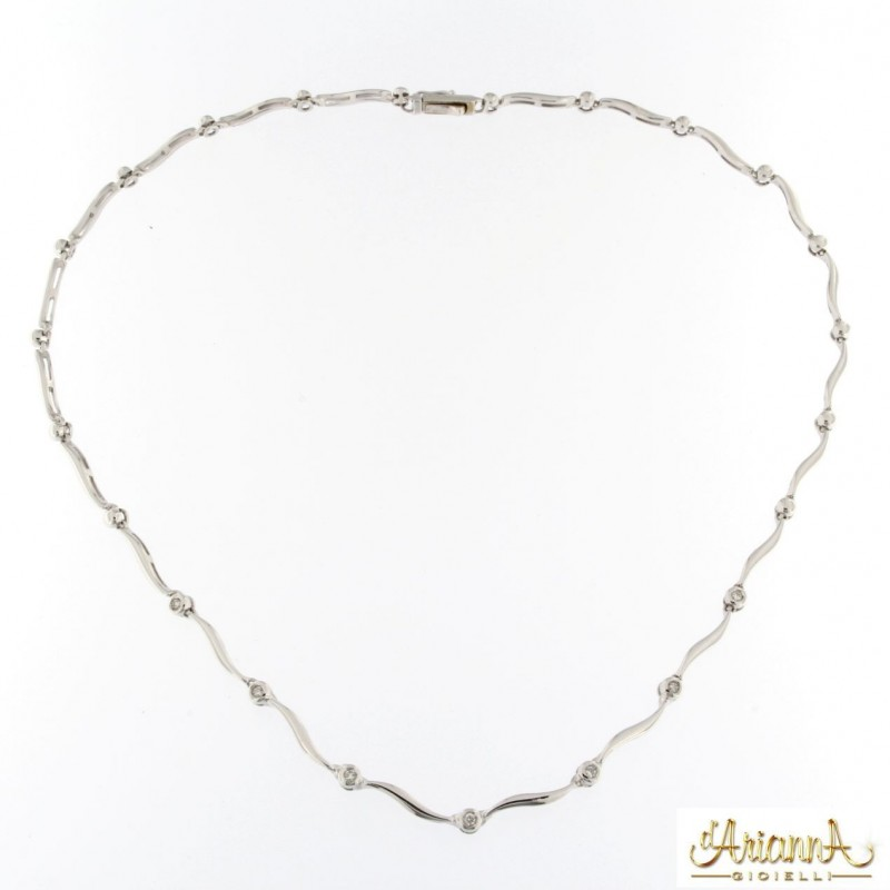 Collier con Diamanti 110