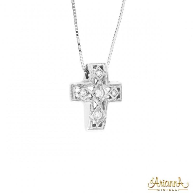 Croce con collana C37